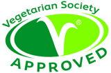 Vegetarian Society Approved Logo