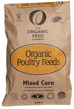 Organic Feed Mixed Corn