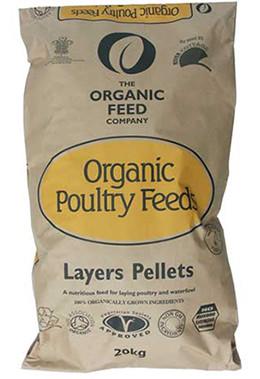 Organic Feed Layers Pellets