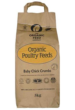 Organic Feed Baby Chick Crumb