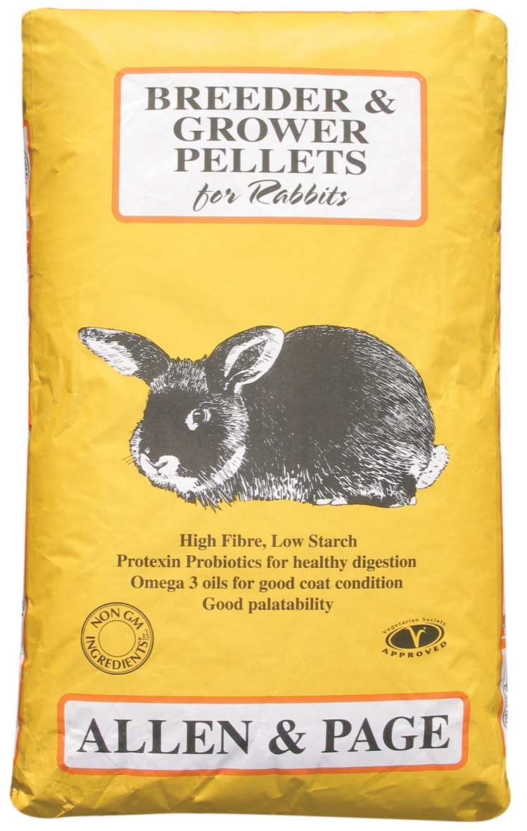 Rabbit Feed breeder & grower