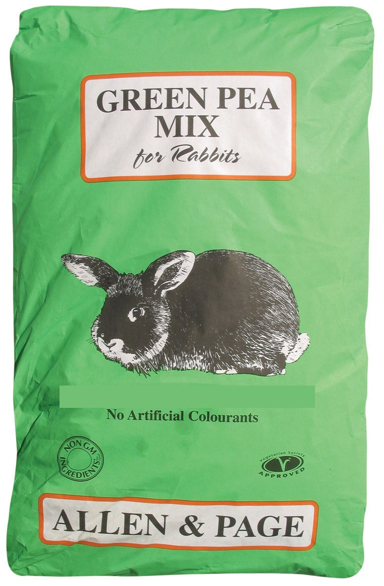 Rabbit Feed Green Pea mix