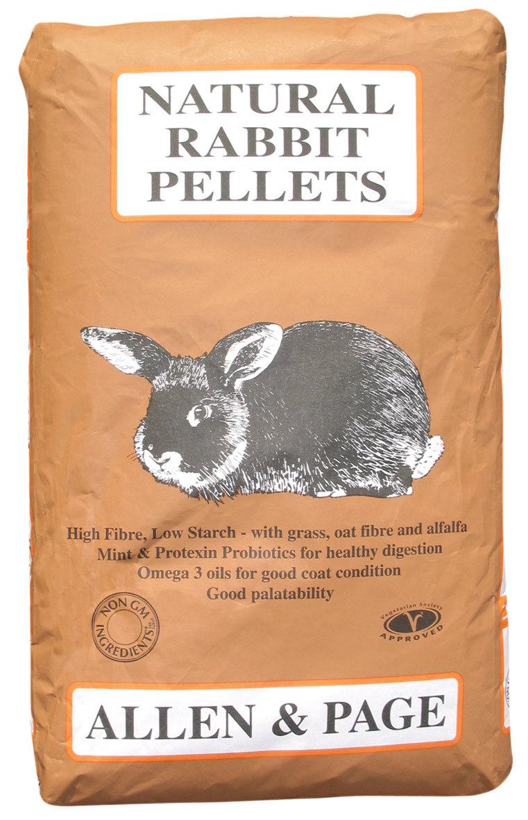 Rabbit Feed Natural Rabbit Pellets