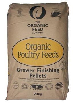 Organic Feed Grower Finishing Pellets