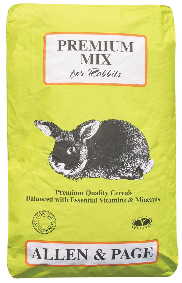 Rabbit Feed Premium Mix